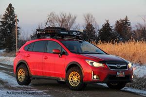 Subaru Crosstrek with Black Rhino Boxer