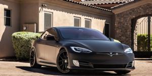 Tesla S with Asanti Black Label ABL-13 Vega