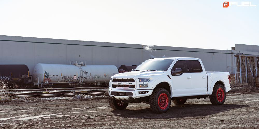 Ford F-150 with Fuel 1-Piece Wheels TRIGGER - D758