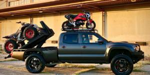 Toyota Tacoma with Asanti Off-Road AB811 Warthog