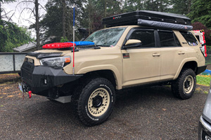Toyota 4Runner with Black Rhino Armory