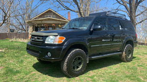 Toyota Sequoia with Black Rhino Henderson