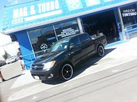 Toyota Hilux with TSW Jarama