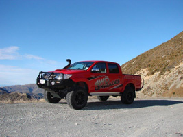 Toyota Hilux with Black Rhino Sidewinder