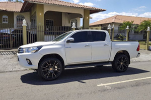 Toyota Hilux with Black Rhino Zion 6