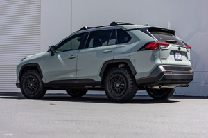 Toyota RAV4 with Black Rhino Barstow