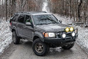 Toyota Sequoia with Black Rhino Bantam