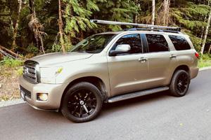 Toyota Sequoia with Black Rhino Traverse