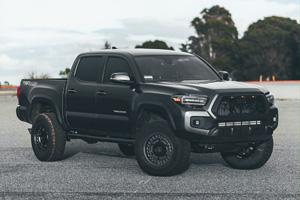 Toyota Tacoma with Black Rhino Armory