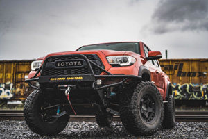 Toyota Tacoma with Black Rhino Bantam