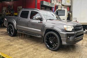 Toyota Tacoma with Status Wheels Goliath