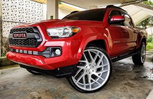 Toyota Tacoma with Status Wheels Juggernaut