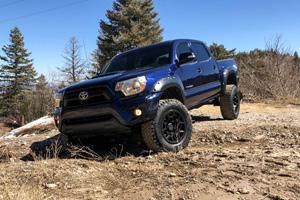 Toyota Tacoma with Black Rhino Overland