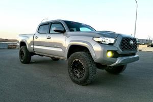 Toyota Tacoma with Black Rhino Reno