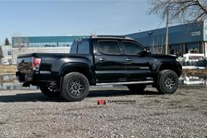 Toyota Tacoma with Black Rhino Shrapnel