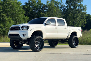 Toyota Tacoma with Tuff A.T. Wheels T2A True Directional