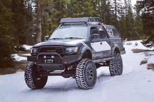Toyota Tacoma with Black Rhino Warlord