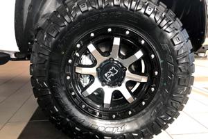 Toyota Tundra with Black Rhino Coyote