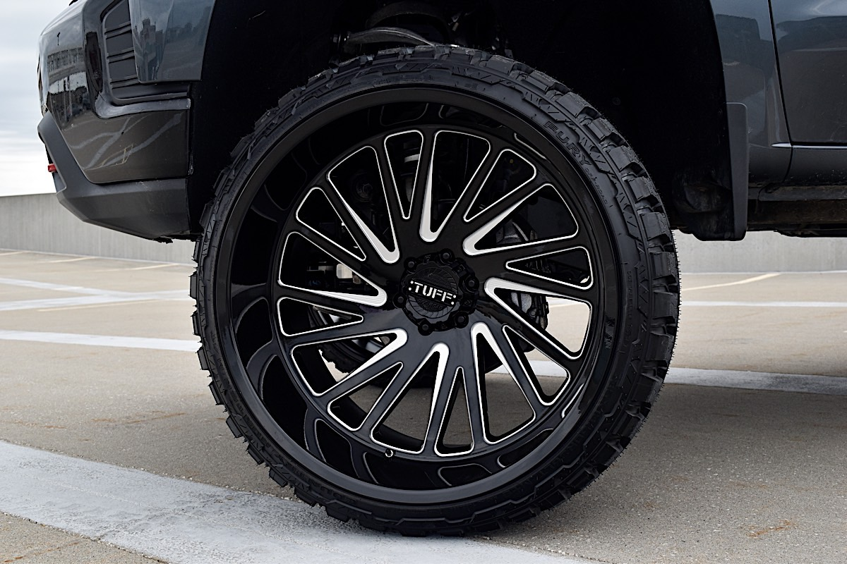 Chevrolet Silverado 1500 with Tuff A.T. Wheels T2A
