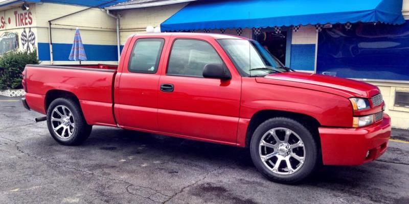Chevrolet Silverado 1500 SUBJECT TO AVAILABILITY 245 Spline