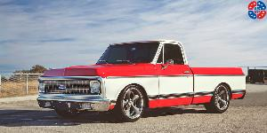Standard Concave - U501 on Chevrolet C10