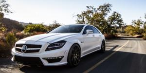 Mercedes-Benz CLS63 AMG with Verde Wheels V20 Insignia