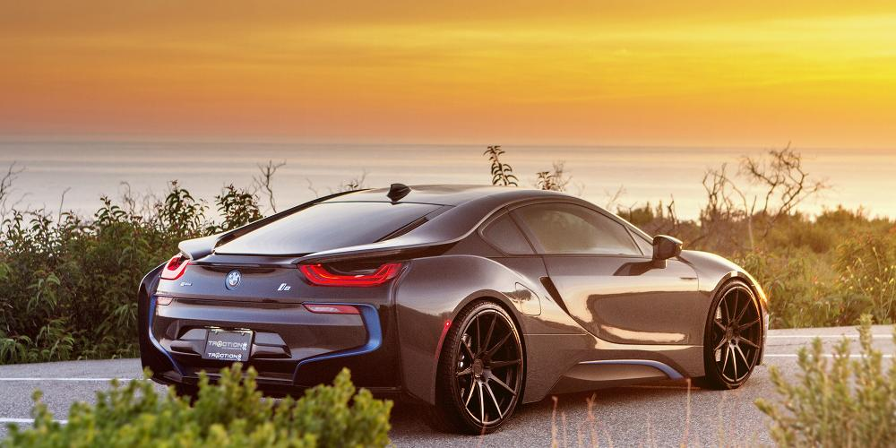 BMW i8 Verde Wheels V20 Insignia