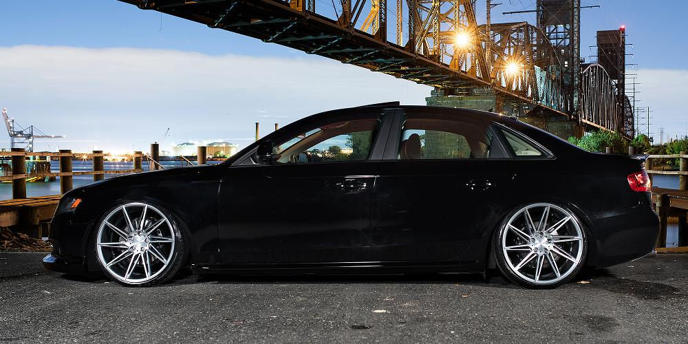 Audi A4 with Verde Wheels V25 Quantum