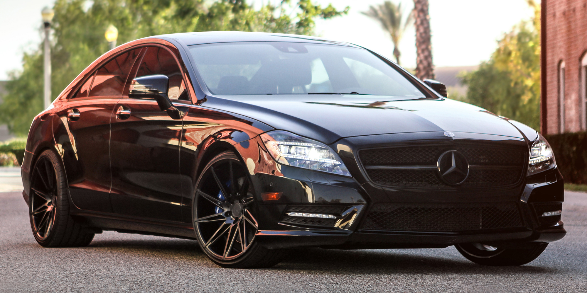 Mercedes-Benz CLS550 with Verde Wheels V25 Quantum