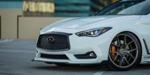 Infiniti Q60 with Verde Wheels V99 Axis