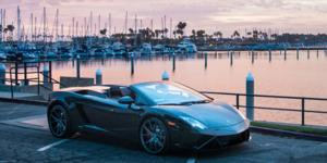 Lamborghini Gallardo with Verde Wheels V99 Axis