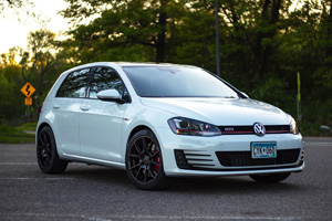Volkswagen GTI with TSW Chrono