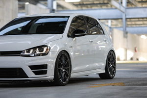 Volkswagen Golf with TSW Sprint