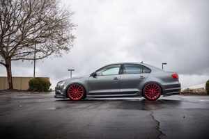 Volkswagen Jetta with XO Wheels London