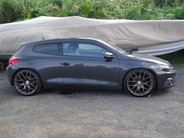 Volkswagen Scirocco with TSW Nurburgring