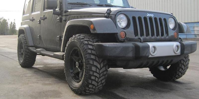 Jeep Wrangler Off-Road 395 Wizard
