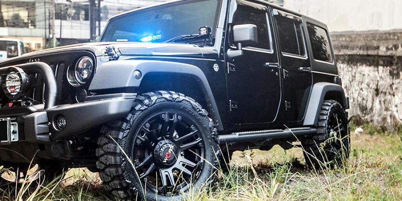 Jeep Wrangler WORX 803 Beast Truck