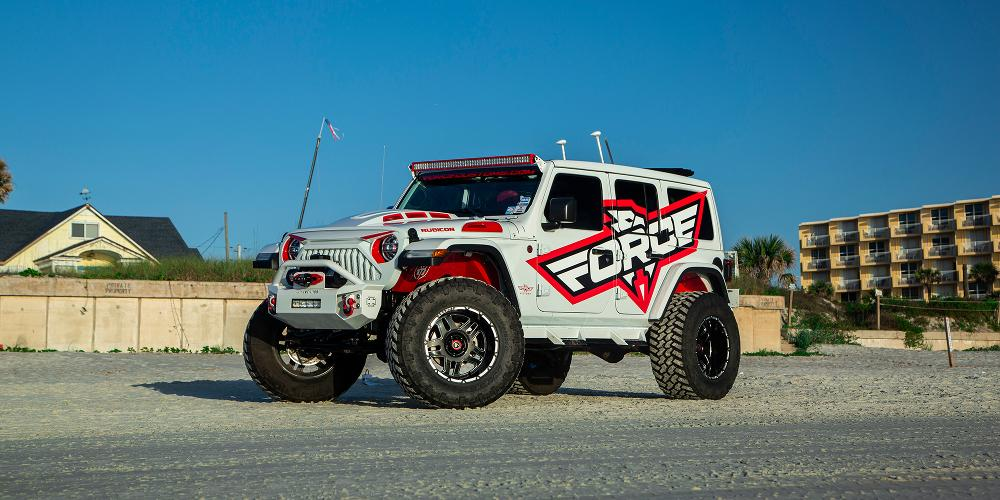 Jeep Wrangler with AB809 Enforcer