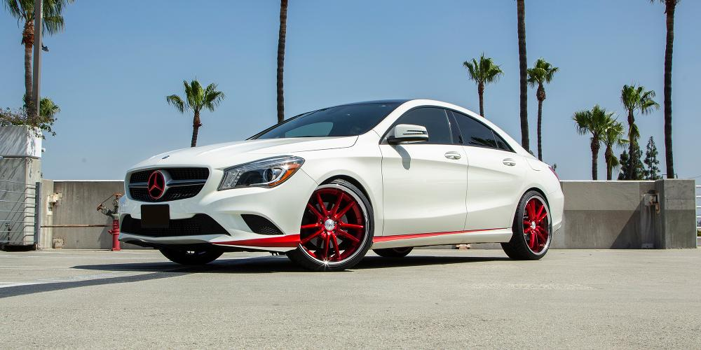 Mercedes-Benz CLA250 with ABL-23 Sigma
