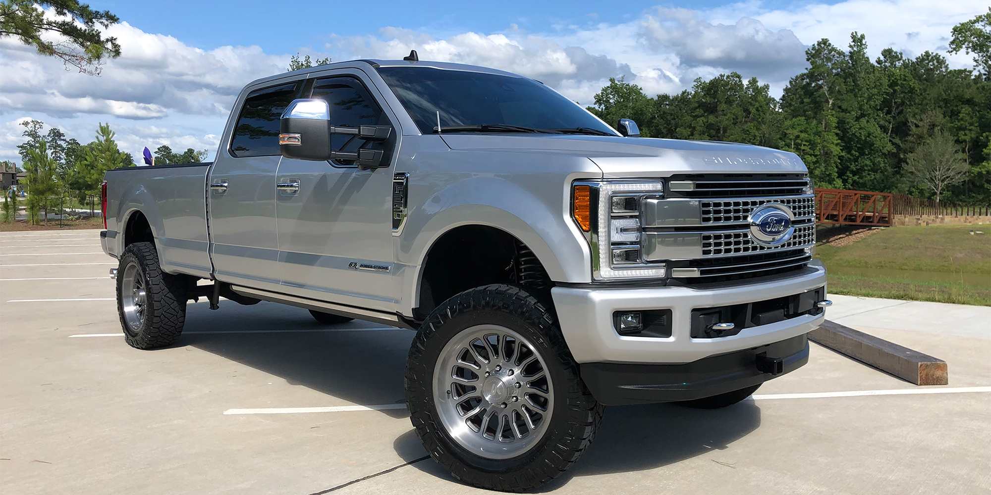 Ford F-350 Super Duty with Asanti Off-Road AB815 Workhorse