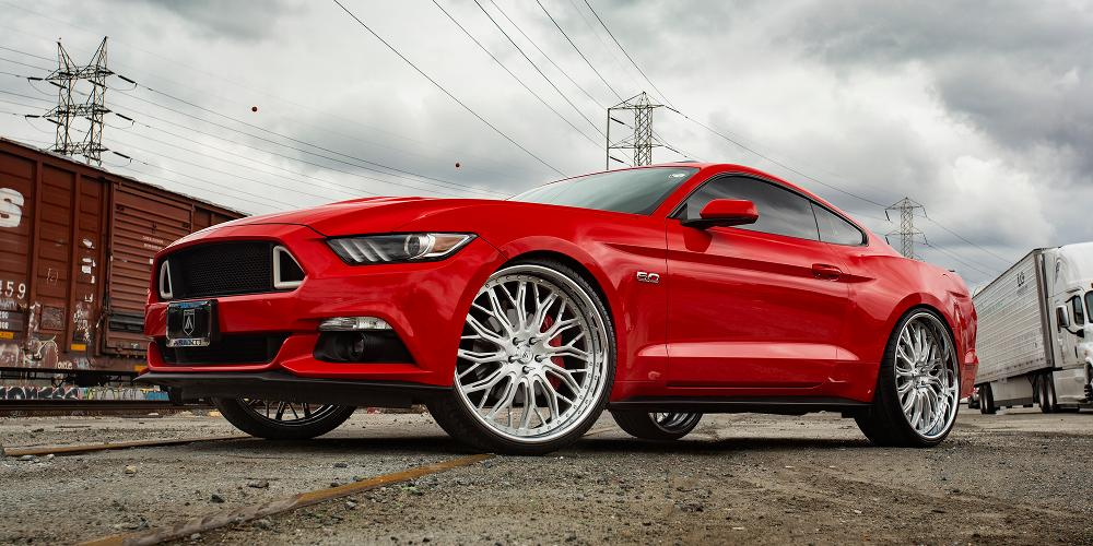 Ford Mustang with A/F Series AF866