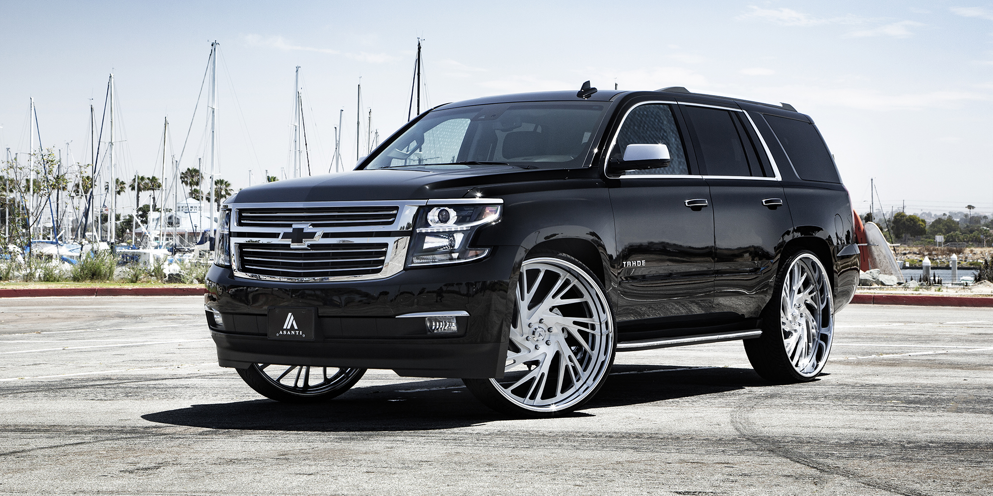 Chevrolet Tahoe with Asanti Forged Wheels AF868