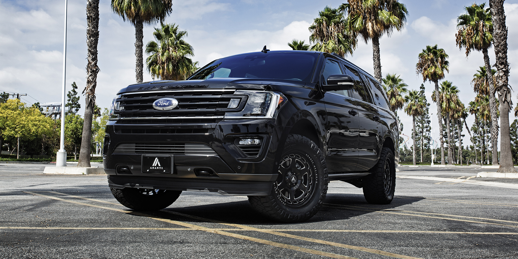 Ford Expedition with Asanti Off-Road AB816 Anvil