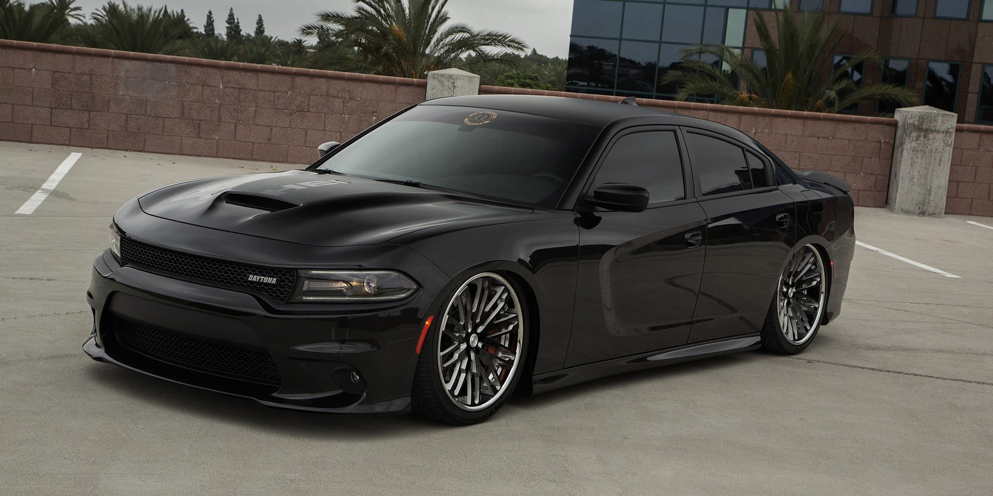 Dodge Charger with Asanti Forged Wheels C/X Series CX871