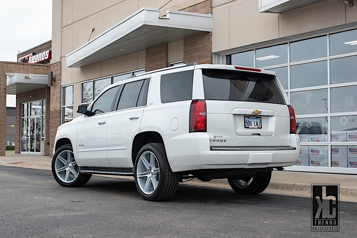 Chevrolet Tahoe with Asanti Black Label ABL-25 Alpha 6