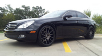 Surge - M114 on Mercedes-Benz CLS550