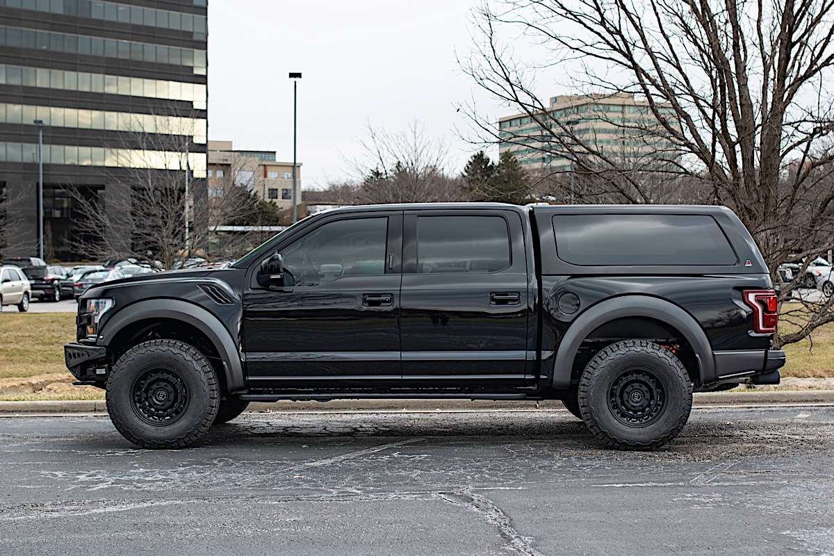 Ford Raptor with Black Rhino Arsenal