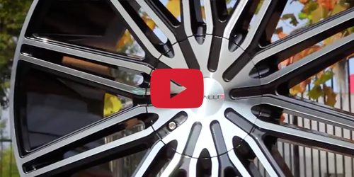 Cavallo CLV-10 Black Machined | Wheel Showcase