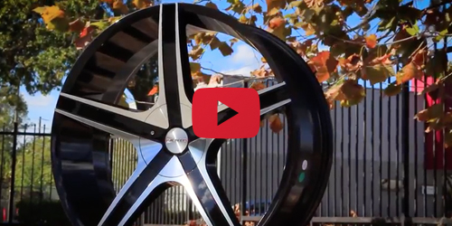 Cavallo CLV-3 Black Machined | Wheel Showcase