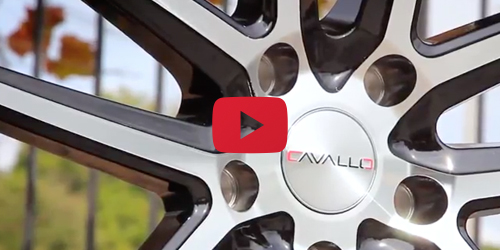 Cavallo CLV-4 Black Machined | Wheel Showcase